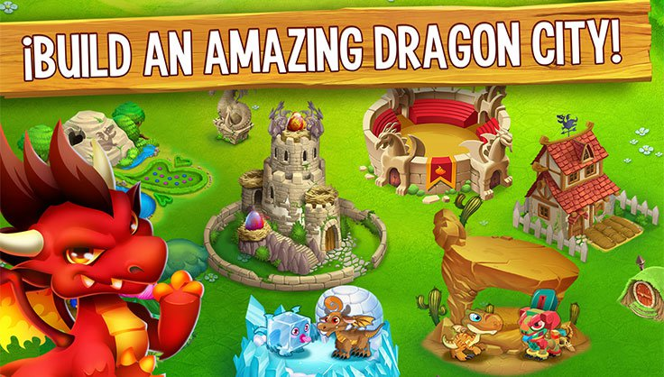 Build an Amazing Dragon City!