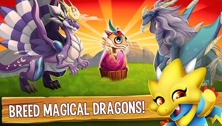 Breeed Magical Dragons!