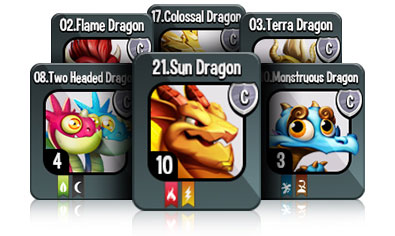Collect 100's of Dragons